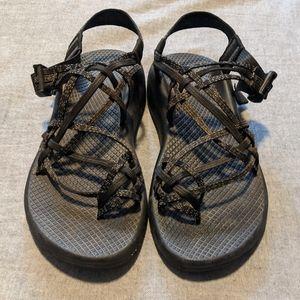 Women's Chaco 3 strap toe strap sandals